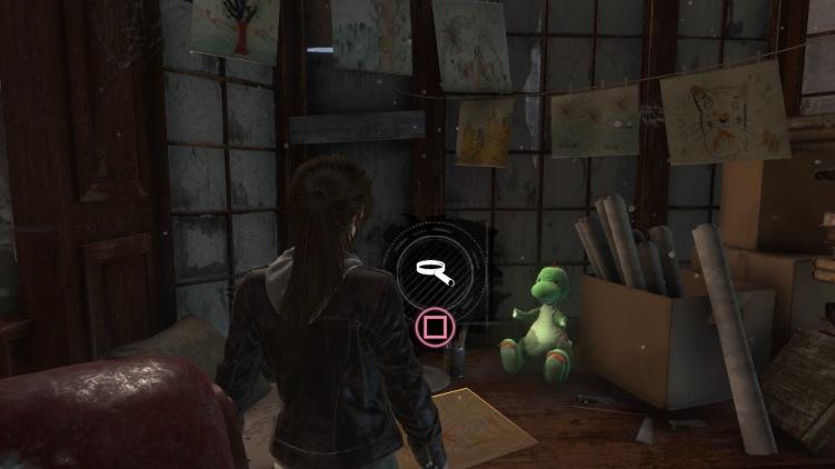 Lara's adorable dinosaur cuddly toy