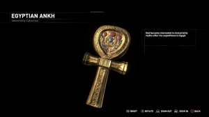 The Egyptian ankh seen in the 'Blood Ties' DLC