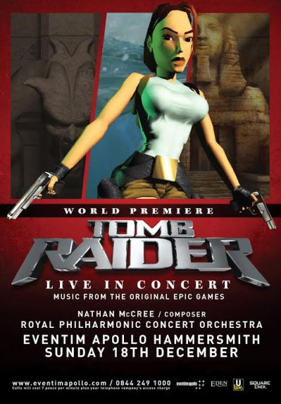 Tomb Raider: Live in Concert poster