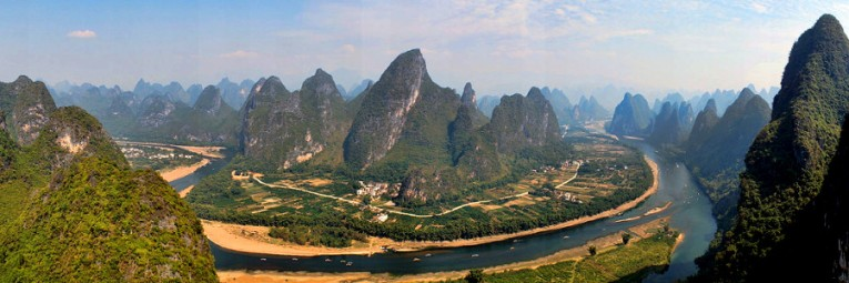 Guilin landscape, China (Image credit: Wikimedia Commons)