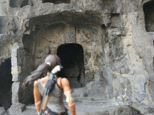 Lara does a spot of tomb raiding in Luoyang (Image credit: Ade Tong)