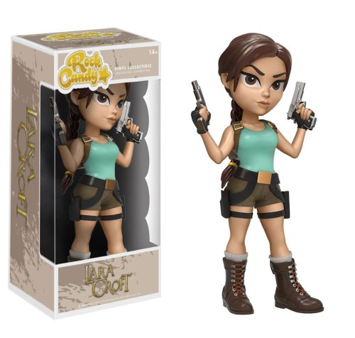 Lara Croft Rock Candy figure