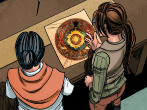 "The ""Wei Mirror"" as seen in the Dark Horse comics (Image credit: Dark Horse)"