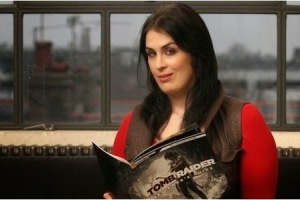Rhianna Pratchett, lead writer for Tomb Raider (2013)