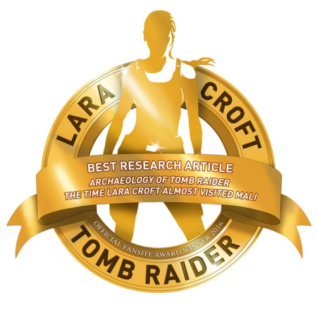 'Best Research Article' in the 2016 Official Tomb Raider Fansite Awards
