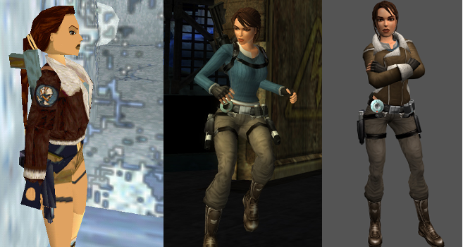 Tomb Raider winter outfits
