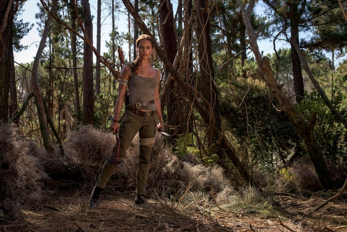 Promotional picture for Tomb Raider (2018) (Image credit: MGM/Warner Bros)