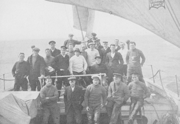 The Endurance crew (Image credit: Frank Hurley/Wikimedia Commons)