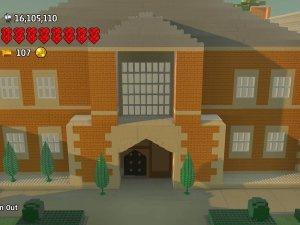 Ross Kearney recreates Croft Manor in LEGO Worlds
