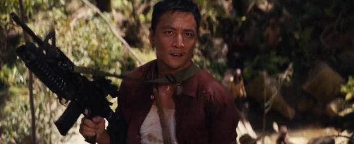 Lu Ren (Daniel Wu) joins Lara on her quest to find Yamatai