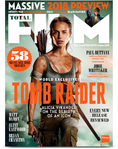 Total Film's Tomb Raider cover
