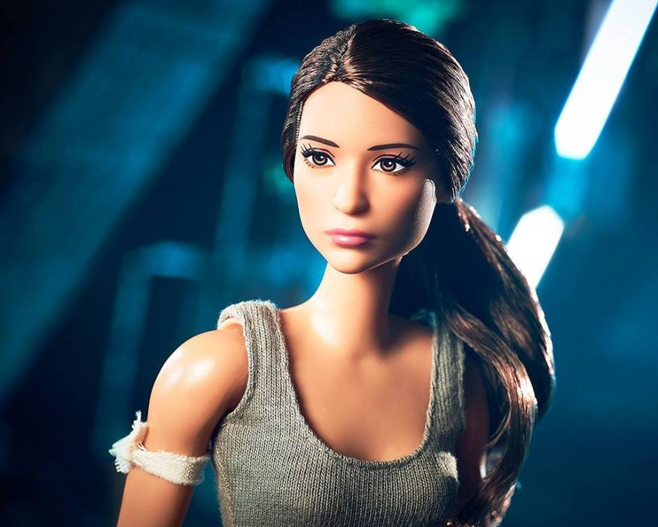 Mattel's Lara Croft Barbie doll