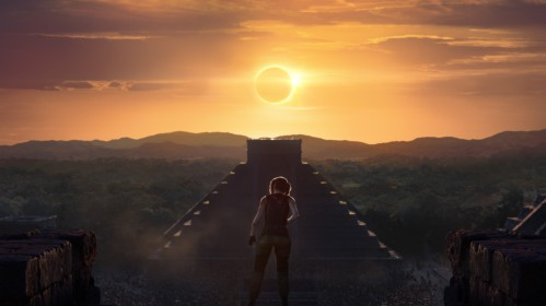 Screenshot from the teaser trailer of 'Shadow of the Tomb Raider'. Image credit: Square Enix