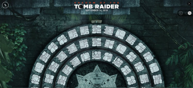 TombRaider.com's 'Path of the Stars' puzzle