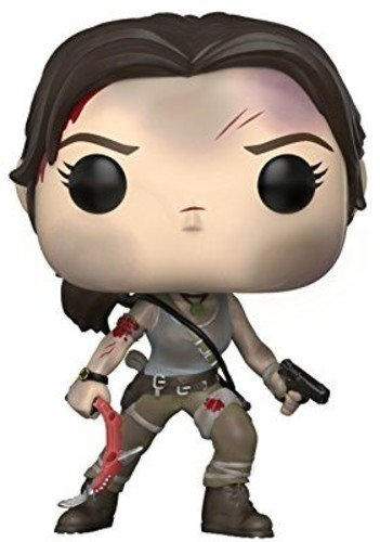 Funko Pop figure based on Lara Croft from the 2013 reboot game