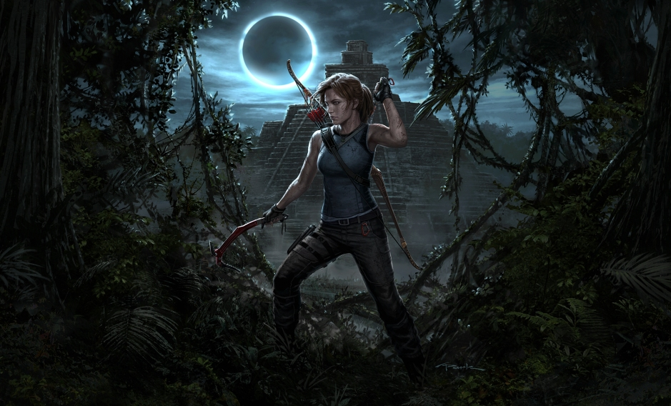 'Shadow of the Tomb Raider' art by Andy Park