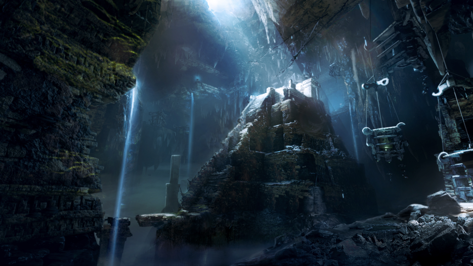 Concept art for 'Shadow of the Tomb Raider'