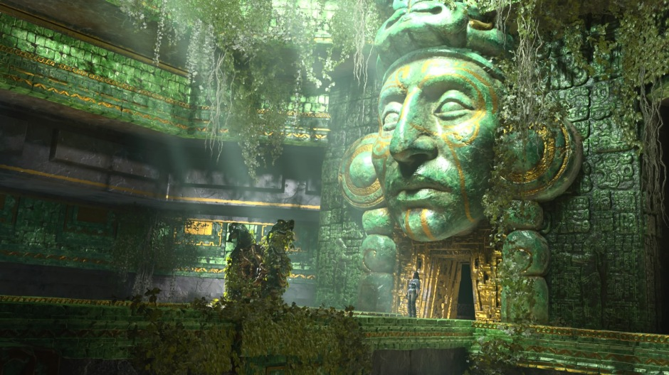 Ancient Maya site in Shadow of the Tomb Raider