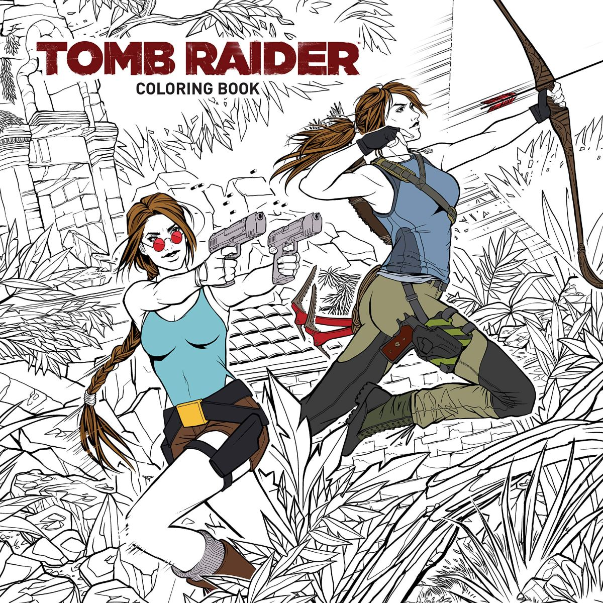 'Tomb Raider' Colouring Book Coming in January 2019