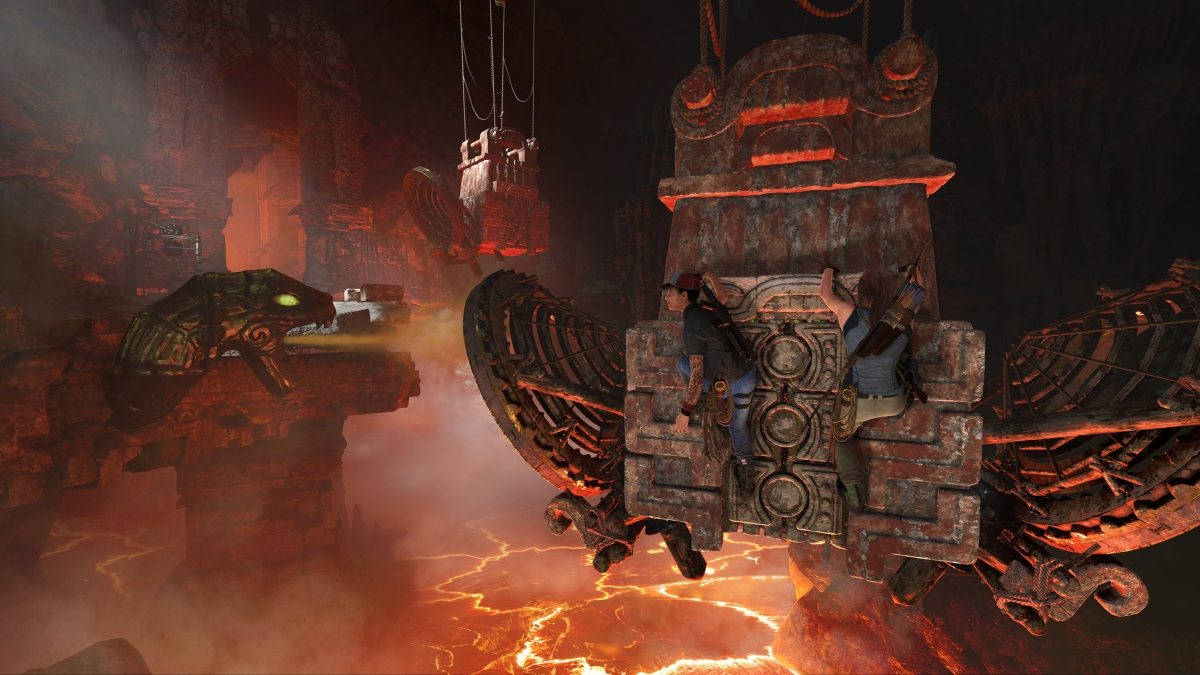 Eidos-Montreal Discuss 'Shadow of the Tomb Raider' DLC Adventures - Video Archive