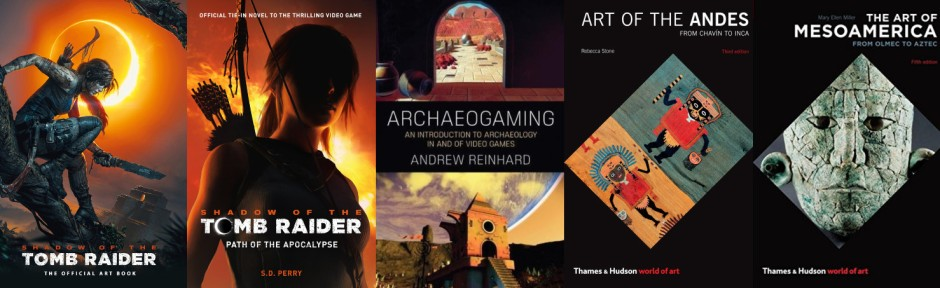 Tomb Raider Christmas gift guide - books