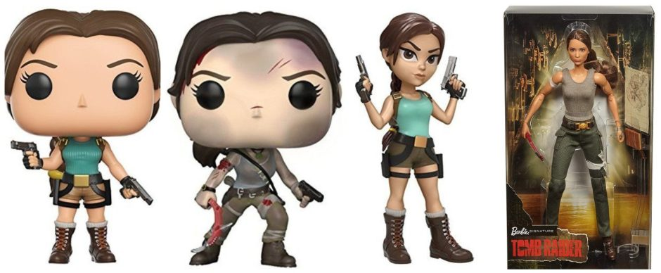 Tomb Raider Christmas gift guide - action figures and dolls