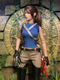 Christophe Croft's Lara Croft Tonner Doll