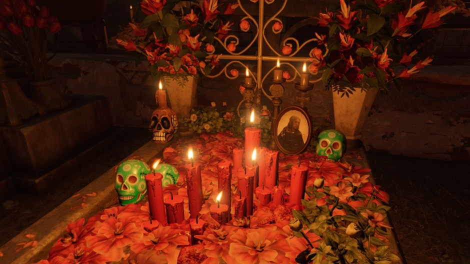 Day of the Dead celebrations in Shadow of the Tomb Raider (Image credit: Tomb Raider Horizons)