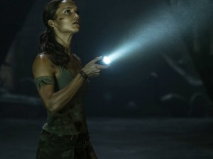 Alicia Vikander as Lara Croft in 'Tomb Raider' (2018)