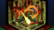 Jason Chester's model of the Dragon's Lair from Tomb Raider II