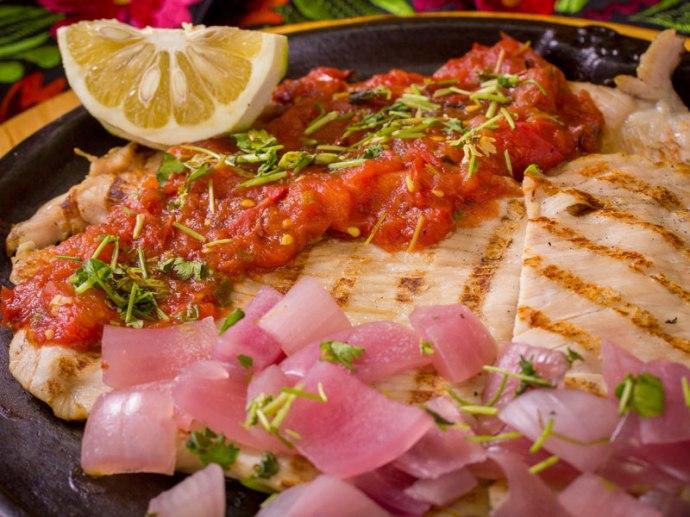 Poc Chuc, from the Los Almendros Restaurant