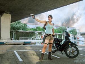 Noelle Adams as Classic Lara Croft