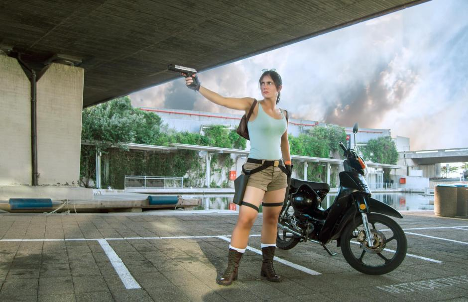 Noelle Adams as Classic Lara Croft