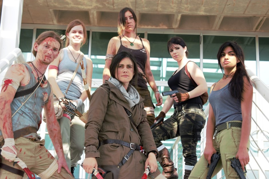 Noelle and other Tomb Raider cosplay ambassadors